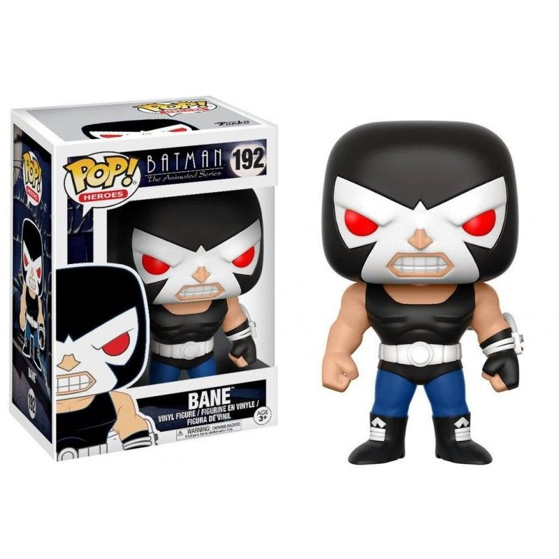 FUNKO FUNKO POP! BATMAN THE ANIMATED SERIES - BANE BOBBLE HEAD KNOCKER FIGURE