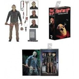 FRIDAY THE 13TH PART 4 ULTIMATE JASON VOORHEES DELUXE ACTION FIGURE NECA