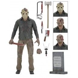 NECA FRIDAY THE 13TH PART 4 ULTIMATE JASON VOORHEES DELUXE ACTION FIGURE