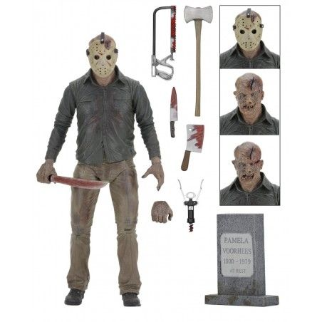 FRIDAY THE 13TH PART 4 ULTIMATE JASON VOORHEES DELUXE ACTION FIGURE