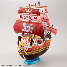 ONE PIECE GRAND SHIP COLLECTION QUEEN MAMA CHANTER SHIP MODEL KIT BANDAI
