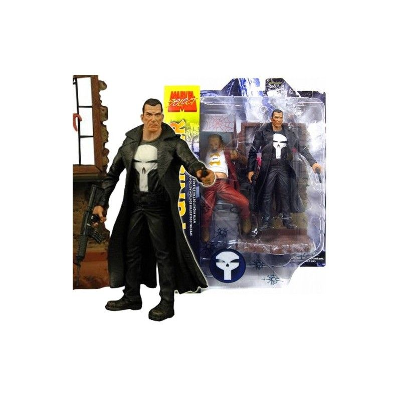 DIAMOND SELECT MARVEL SELECT THE PUNISHER IL PUNITORE ACTION FIGURE