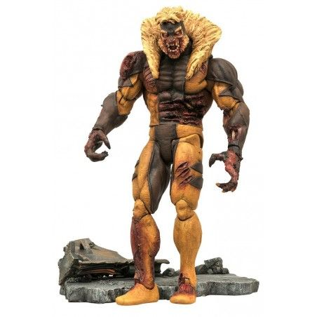 MARVEL SELECT X-MEN ZOMBIE SABERTOOTH ACTION FIGURE
