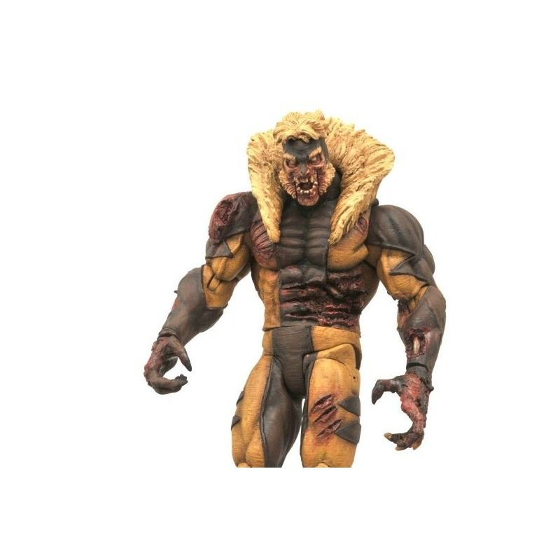 MARVEL SELECT X-MEN ZOMBIE SABERTOOTH ACTION FIGURE DIAMOND SELECT