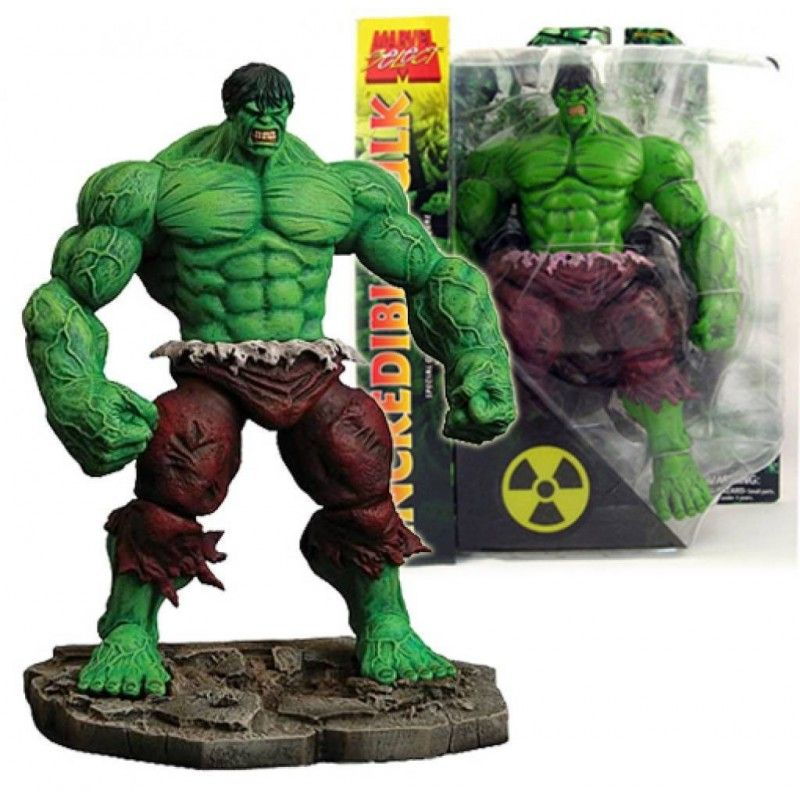DIAMOND SELECT MARVEL SELECT AVENGERS THE INCREDIBLE HULK ACTION FIGURE