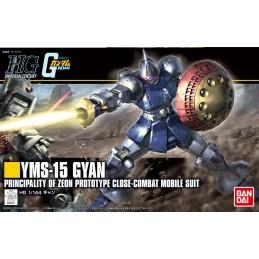 HIGH GRADE HGUC YMS-15 GYAN GUNDAM 1/144 MODEL KIT ACTION FIGURE