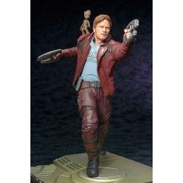 KOTOBUKIYA GUARDIANS OF THE GALAXY VOL.2 STAR LORD AND BABY GROOT ARTFX STATUE