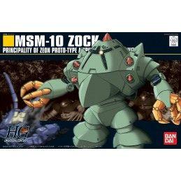 BANDAI HIGH GRADE HGUC GUNDAM MSM-10 ZOCK 1/144 MODEL KIT ACTION FIGURE