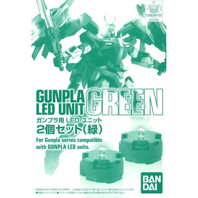 MASTER GRADE MG GUNDAM LED UNIT SET GREEN 1/100 MODEL KIT ACTION FIGURE BANDAI