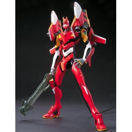 EVANGELION EVA 02 NEW MOVIE VERSION MODEL KIT ACTION FIGURE BANDAI