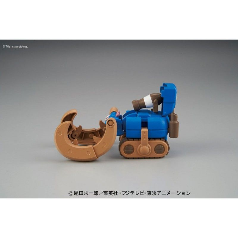 BANDAI ONE PIECE CHOPPER ROBO SUPER 3 HORN DOZER MODEL KIT ACTION FIGURE