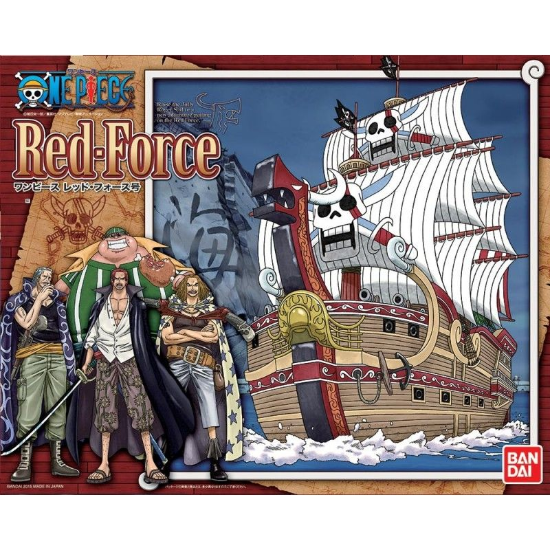 ONE PIECE RED FORCE 30CM MODEL KIT BANDAI