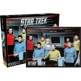 STAR TREK THE ORIGINAL SERIES CAST 1000 PIECES PEZZI JIGSAW PUZZLE 51X69 CM