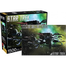 STAR TREK SHIPS OF THE GALAXY 1500 PIECES PEZZI JIGSAW PUZZLE 51X69 CM