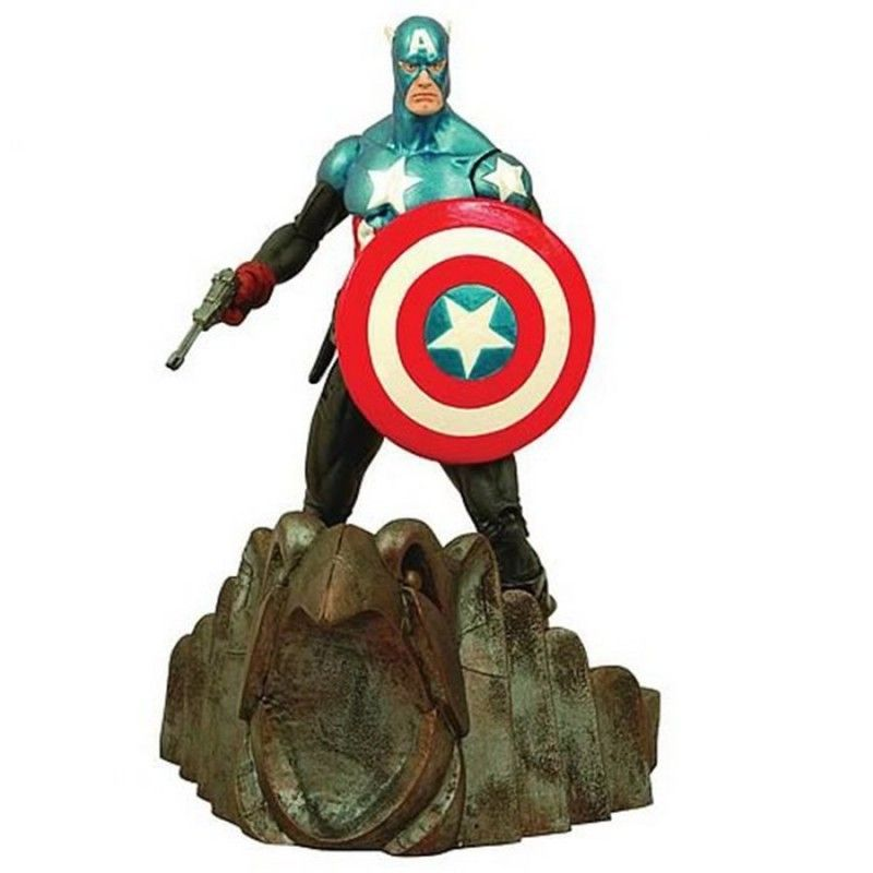 MARVEL SELECT AVENGERS VENDICATORI CAPITAN AMERICA ACTION FIGURE DIAMOND SELECT