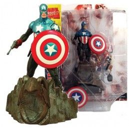 DIAMOND MARVEL SELECT CAPITAN AMERICA ACTION FIGURE