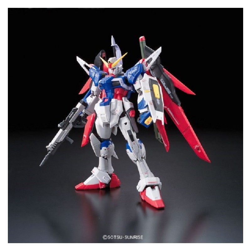 REAL GRADE RG DESTINY GUNDAM 1/144 MODEL KIT FIGURE BANDAI