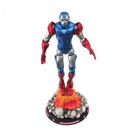 MARVEL SELECT WHAT IF IRON MAN IRONMAN CAPTAIN AMERICA ACTION FIGURE