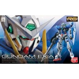 REAL GRADE RG GUNDAM EXIA 1/144 MODEL KIT FIGURE BANDAI