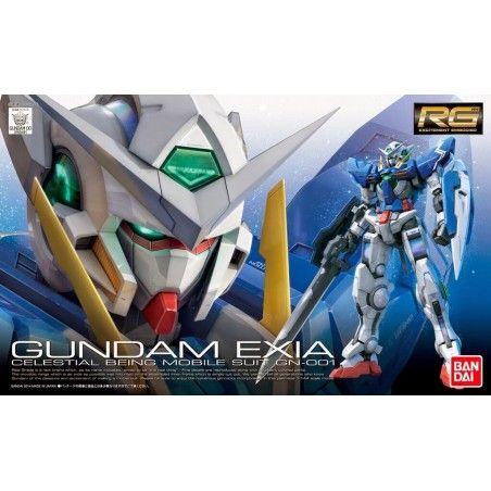 REAL GRADE RG GUNDAM EXIA 1/144 MODEL KIT FIGURE