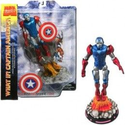 DIAMOND MARVEL SELECT WHAT IF IRON MAN CAPTAIN AMERICA VARIANT ACTION FIGURE