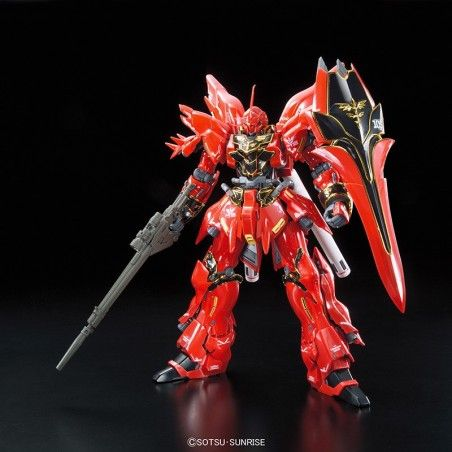 REAL GRADE RG SINANJU GUNDAM 1/144 MODEL KIT FIGURE