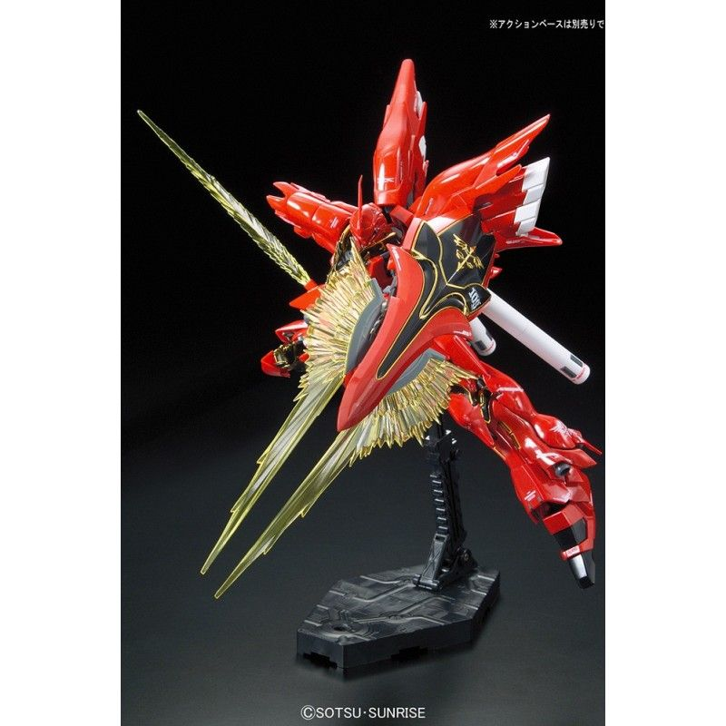 REAL GRADE RG SINANJU GUNDAM 1/144 MODEL KIT FIGURE BANDAI