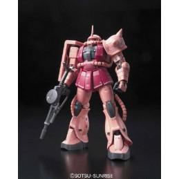 BANDAI REAL GRADE RG MS-06S ZAKU GUNDAM 1/144 MODEL KIT FIGURE