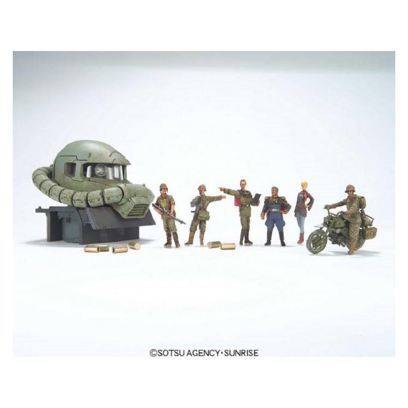 U.C. HARD GRAPH GUNDAM RAMBA RAL COMMANDO SET 1/35 MODEL KIT FIGURE BANDAI