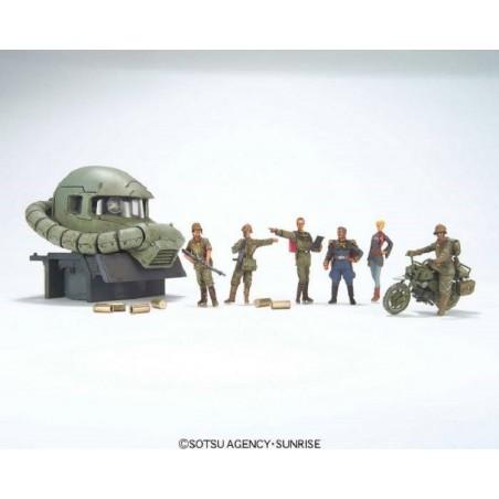U.C. HARD GRAPH GUNDAM RAMBA RAL COMMANDO SET 1/35 MODEL KIT FIGURE