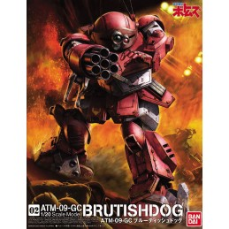 ATM-09-GC BRUTISHDOG 1/20 MODEL KIT ACTION FIGURE BANDAI