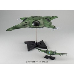 YAMATO 2199 YAMATO PORUMERIA ASSAULT CARRIER 1/1000 MODEL KIT ACTION FIGURE BANDAI