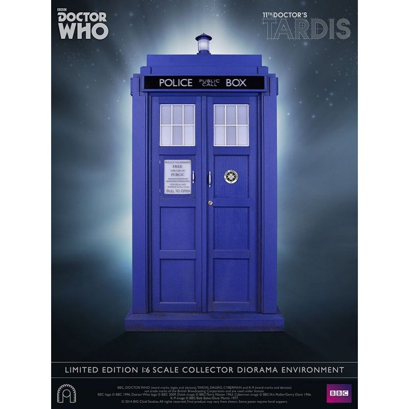 BIG CHIEF DOCTOR WHO - TARDIS 11TH DOCTOR 1/6 SCALE COLLECTOR 40 CM REPLICA