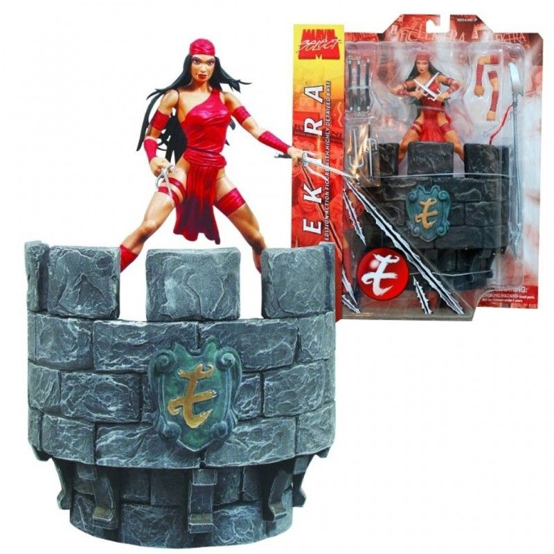 DIAMOND SELECT MARVEL SELECT ELEKTRA ACTION FIGURE