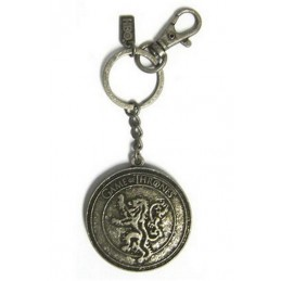 GAME OF THRONES LANNISTER KEYRING PORTACHIAVI IN METALLO