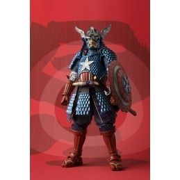 MARVEL SAMURAI CAPTAIN AMERICA ACTION FIGURE BANDAI