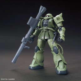 HIGH GRADE HG GUNDAM ORIGINS ZAKU II TYPE C 1/144 MODEL KIT ACTION FIGURE BANDAI