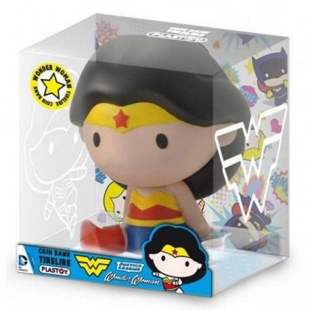 WONDER WOMAN CHIBI BANK SALVADANAIO FIGURE