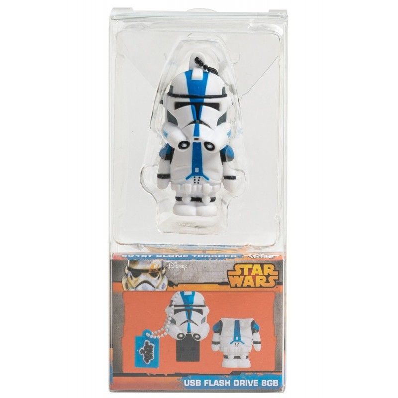 STAR WARS CLONE TROOPER CHIAVETTA USB FLASH DRIVE 8GB MAIKII