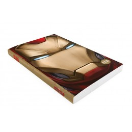 IRON MAN CIVIL WAR LIGHT UP NOTEBOOK - TACCUINO LUMINOSO 15X24CM