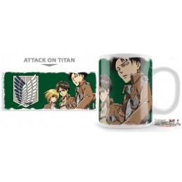 UNEKORN ATTACK ON TITAN BLAZON TEAM MUG TAZZA IN CERAMICA