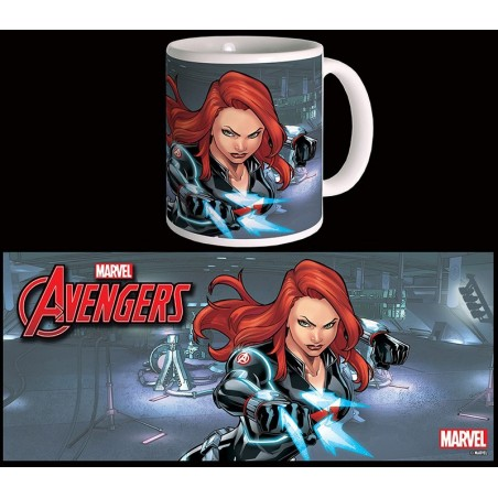 AVENGERS VEDOVA NERA BLACK WIDOW MUG TAZZA IN CERAMICA
