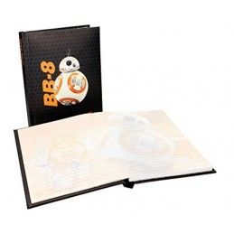 SD TOYS STAR WARS EP7 BB-8 NOTEBOOK LIGHT UP - TACCUINO LUMINOSO 15X21CM