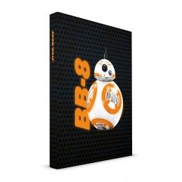 STAR WARS EP7 BB-8 NOTEBOOK LIGHT UP - TACCUINO LUMINOSO 15X21CM