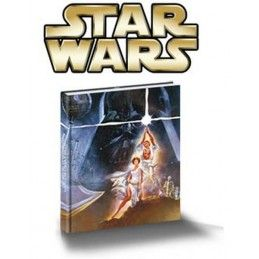 STAR WARS MUSICAL NOTEBOOK - TACCUINO MUSICALE 15X21CM SD TOYS