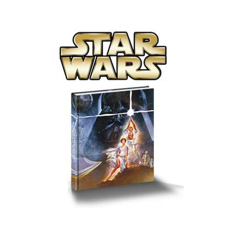 SD TOYS STAR WARS MUSICAL NOTEBOOK - TACCUINO MUSICALE 15X21CM