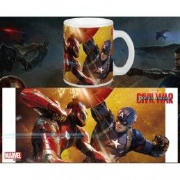 CAPTAIN AMERICA CIVIL WAR MUG TAZZA IN CERAMICA SEMIC