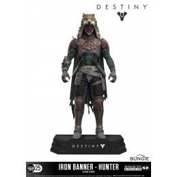 DESTINY - IRON BANNER HUNTER COLOR TOPS ACTION FIGURE MC FARLANE