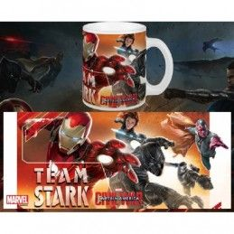 CAPTAIN AMERICA CIVIL WAR TEAM STARK MUG TAZZA IN CERAMICA SEMIC
