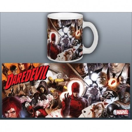 DAREDEVIL COMICS MUG TAZZA IN CERAMICA